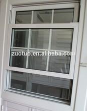 Single hung vinyl window / American style PVC hung window