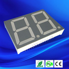 1.5 inch dual digit led 7 segment display anode or cathode green
