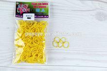 Colorful Rubber Band Loom Bands Children Fun DIY Bracelet Opp packs Package 300pc+12pcs Clip+Hook Set