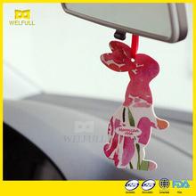 7*10cm OEM Customized Logo Custom Car Air Freshener Paper Car Air Freshener