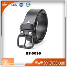 2014 new man casual black color genuine leather belt,belt buckles custom