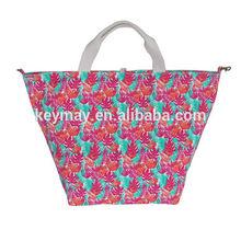 New arrival fashion cheap canvas beach bag for wholesale