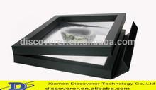 Custom various plastic frame/ floating frame/picture frame with designer,engineer