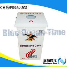 Twin wall plastic corrugated recycling bin /waste bin/trash bin