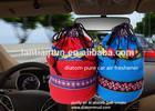 High physical adsorption promotional diatom pure auto air freshener bag