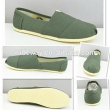 2015 Wholesale China Manufacturer Plain Sneakers Women White Canvas Shoes