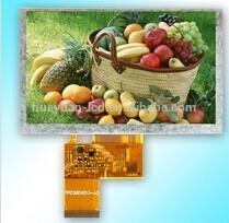 5'' tft lcd matrix Landscape type 480*272 without TP TFT LCD panel
