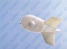 Helium tethered airship/tethered blimp/aerostat