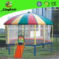 We producir la alta calidad de la redondez de trampolín, cama elástica cubierta de la tienda