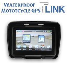 Waterproof Motor bike GPS - 4.3 inch Wince 6.0 GPS Navigation for Bike Motorcycle Car ATV Vehicle