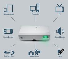 "OSRAM Laser TEXAS INSTRUMENTS 0.45"" DLP Brilens LS1280 Susan Shi 1280X800 perfect 3D function new projector"