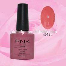free sample uv gel cheap uv gel RNK fashion colored nail gel polish