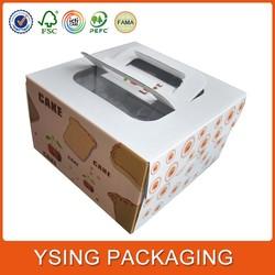 Custom Made Cheap Wedding Cake Boxes