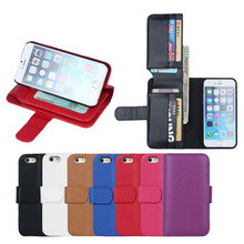 BRG New arrival Wallet case for iphone 6 plus 5.5 inch, for iphone 6 plus 5.5inch case