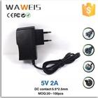 Switch power supply 5v 2a power adapter EU Plug for Tablet PC Q88 Q8 Chuwi V88 Cube U35GT2 U39GT U25gt Super Edition