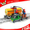 best selling products in dubai plastic stacking block building train toy tanker truck mini figure Compatible I25414
