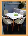 Madeira mesas de jantar/modernas mesas de jantar