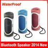 2014 Outdoor Waterproof Bicycle Bluetooth speaker , Wireless Stereo Sound Speakers Box, Loudspeakers Boombox