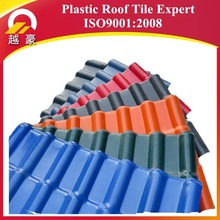 New Roofing Material Spanish Terracotta Synthetic Resin Roof Tile