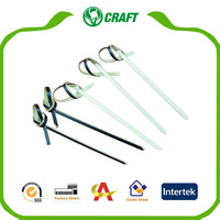 AC-K1012 Party Black Knotted Bamboo Picks