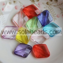 Chunky 10MM Faceted Tapered Earring Cute Beads Charm