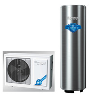 China Household air to water heat pump 3.5kw with 200L water tank work with solar system Split type R417A