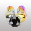 Colorful universal super quiet generator exhaust muffler aoto parts