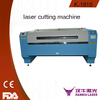 large scaner 1800*1000mm 80W non-woven co2 laser cutting machine
