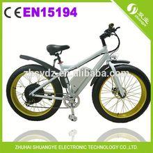 li ion battery pedal assit electric beach bike bicycle