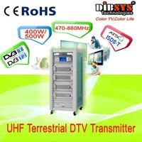 400W/500W Low Power UHF Terrestrial digital tv Transmitter