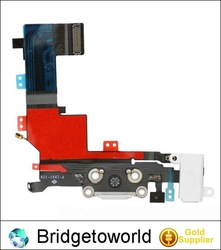 For iPhone 5s charging port flex cable dock connector replacement