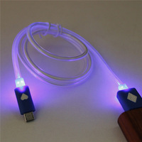 For Cellphone Charging And Sync Data High Quality Led Usb Cable Micro USB cable for android