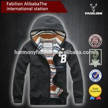 custom made fancy cotton zipper hoody high quality for men cheap hoodies wholesale