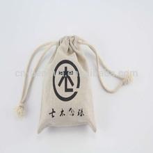 Popular Silk Printing Jute Drawstring Bag