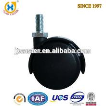 2 inch Dual Wheel Nylon Furniture Caster Wheel ,furniture caster