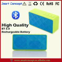 Full Frequency HIFI Speaker Unit Design Portable Colorful Silicone Horn Speaker