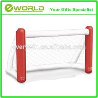 Custom design plastic inflatable toy football goal post