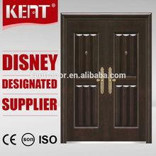 Top KENT DOOR American Steel Door/ Door Entry Wrought Iron/ Safety Door Design With Grill