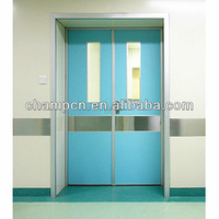 HD068 stainless steel hospital fire resistant doors