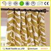 100% Cotton Window Curtain, Customized cotton Printed Curtain