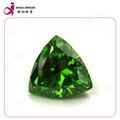 Esmeralda gemstone triângulo CZ pedra preciosa preços de pedra de esmeralda
