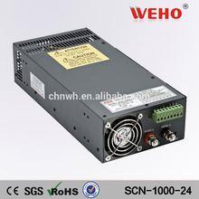 Ac input 110v output voltage 24v 110v ac to 24v 1000w dc power supply