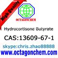 Api- butirato de hidrocortisona, de alta pureza 13609-67-1 butirato de hidrocortisona