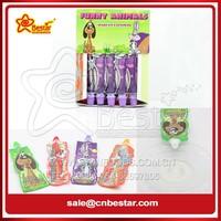 Funny Animal Shape Fruit Jelly Jam Candy/ Jelly Juice Drink