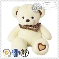 Customized plush toys manufacturer meet EN71 ASTM standard teddy bear plays music