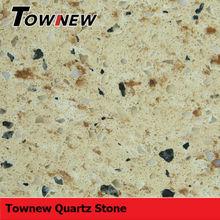 sparkling multicolor with grain cheap and fine heat-resistance quartz slab