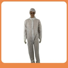 CE/IS013485 approved hospital consumable PP nonwoven overalls medical clothing disposable coveralls