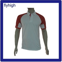 Factory cheap price solid color men's custom Polo t-shirt