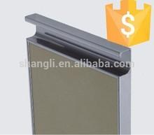 Aluminum profile G handle for kitchen cabinet ,SL- 9158A