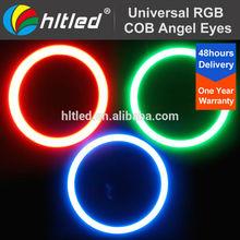 60mm/70mm/80mm/90mm/100mm/110mm/120mm/140mm RGB LED Angel eyes colors